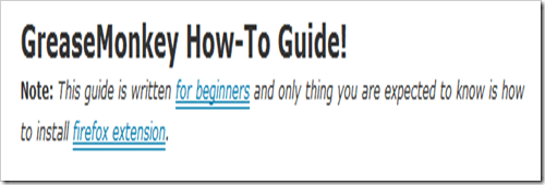 howtouseGreasemonkey1 Introduction to Greasemonkey
