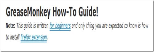 how to use Greasemonkey