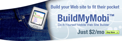 BuildMySite1 20 sites to create/optimize website for mobile phone users