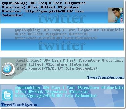 TweetyoursigGenerator4Styles1 10 Best Free Twitter Signature Generators