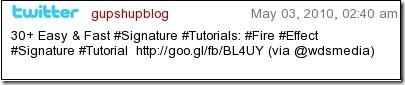 TwitSignature1 10 Best Free Twitter Signature Generators