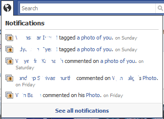 Facebook Notifications1 Do you know A to Z of Facebook??