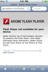 Apple Flash1 10 Awesome Android Features that iOS 4 and iPhone 4 Lack