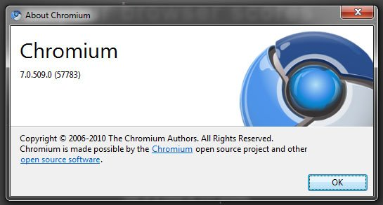 Chromium Chrome 7