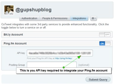 Cotweet Pingfm Integration1 10 ways to schedule Facebook status updates