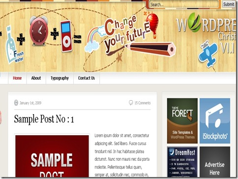 8 WordPress Christmas Theme thumb 40+ Best Free Christmas WordPress Themes [Updated]