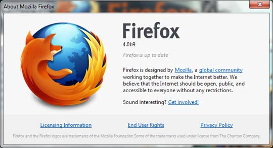 firefox 4 beta 9 image Firefox 4 Beta 10 Planned For January 24 & Beta 11 By 31!