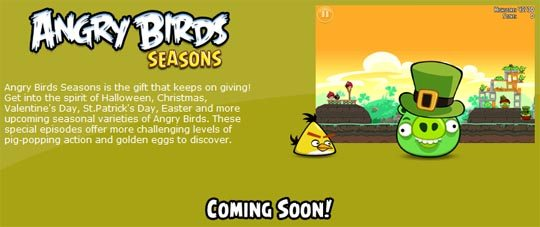 angry birds seasons image Official: Rovio Releases Angry Birds For Windows 7, XP and Vista!