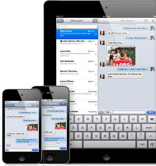 ios 5 features imessage1 60+ Amazing And Best New Features Of iOS 5!