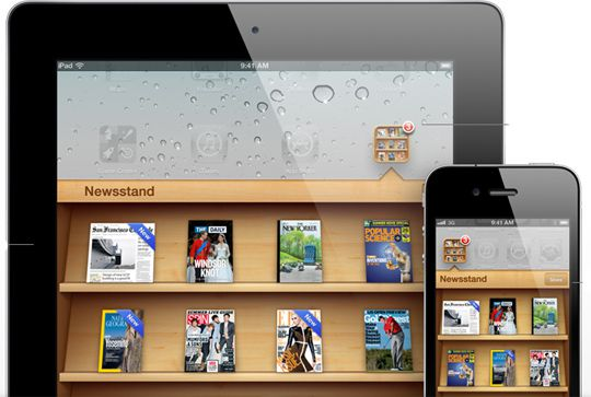 ios 5 features newsstand folder1 60+ Amazing And Best New Features Of iOS 5!