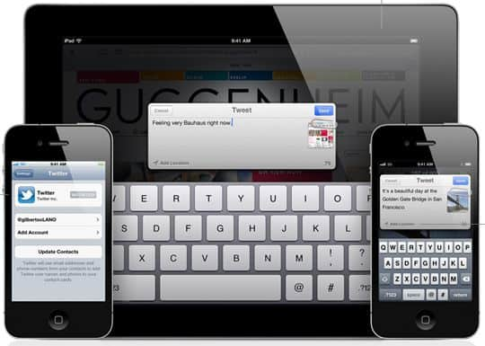 ios 5 features twitter overview1 60+ Amazing And Best New Features Of iOS 5!