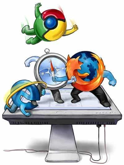 browser wars large Browser Wars : How did it evolve? [INFOGRAPHIC]