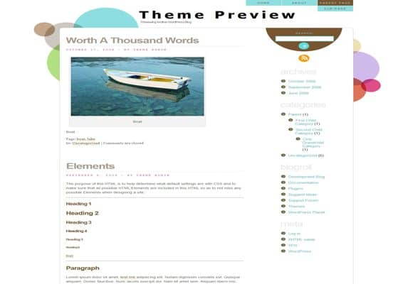 7 html5 wordpress theme 40+ Best Free HTML5 WordPress Themes & Frameworks