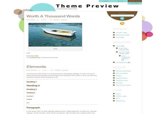 7 html5 wordpress theme 40+ Best Free HTML5 WordPress Themes & Frameworks