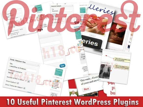 pinterest wordpress plugins 10 Useful @Pinterest WordPress Plugins