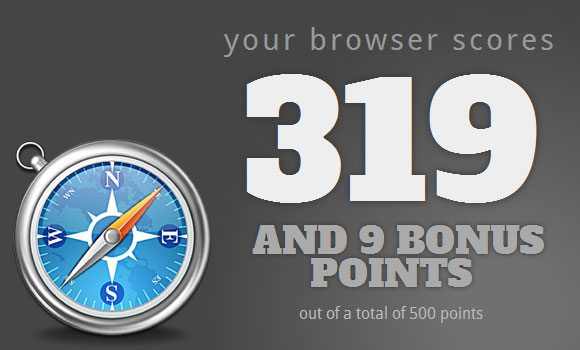 Safari 5 HTML5 Test Score Image Maxthon Browser Beats Chrome and Tops HTML5 Test!
