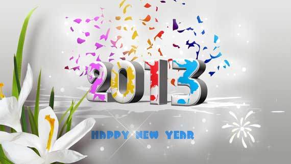 1 60+ Best Free 2013 New Year Desktop Wallpapers!