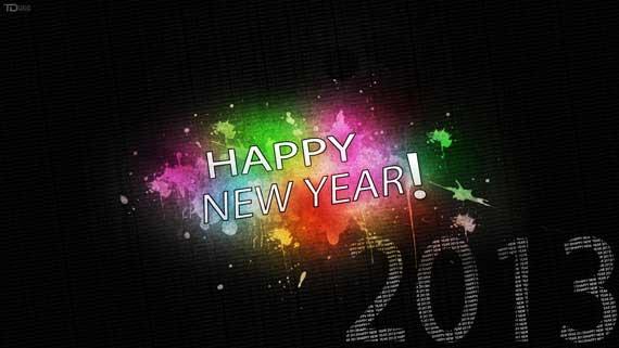 10 60+ Best Free 2013 New Year Desktop Wallpapers!