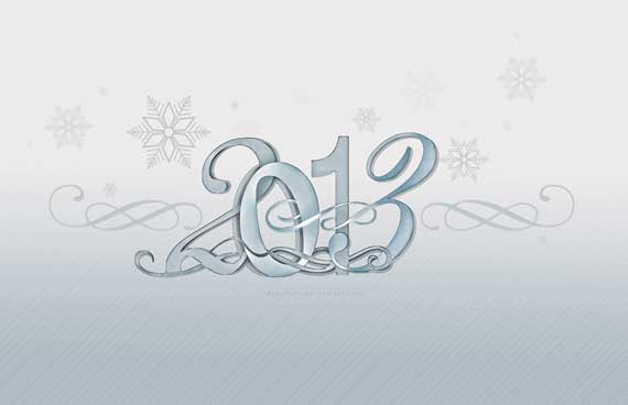 2 60+ Best Free 2013 New Year Desktop Wallpapers!