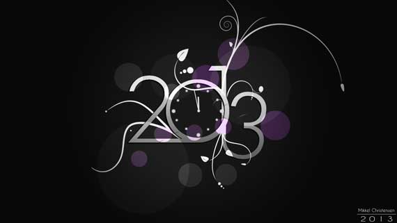 8 60+ Best Free 2013 New Year Desktop Wallpapers!
