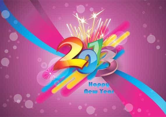 9 60+ Best Free 2013 New Year Desktop Wallpapers!