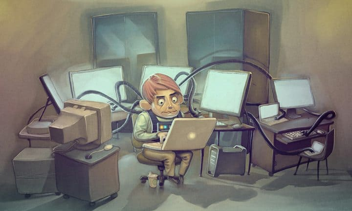 An Idealistic Day Of A Coder (Infographic)