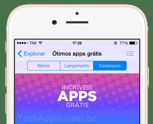 Aplicativos GRATIS na App Store