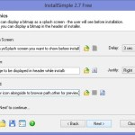 Easily Create Setup / Installer for any Software using InstallSimple Setup creator