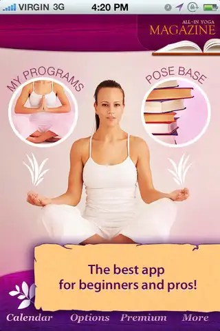 All-In Yoga iphone app