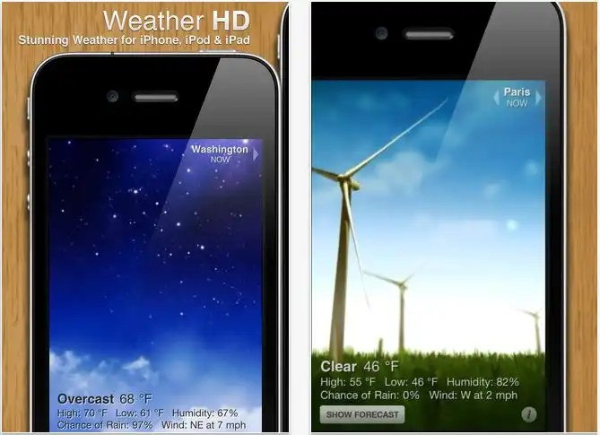 weather hd app