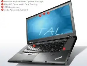 Lenovo ThinkPad T530 Laptop PC with advanced features