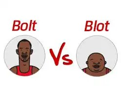 bolt vs blot