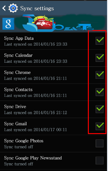 how to turn on sync on google fit