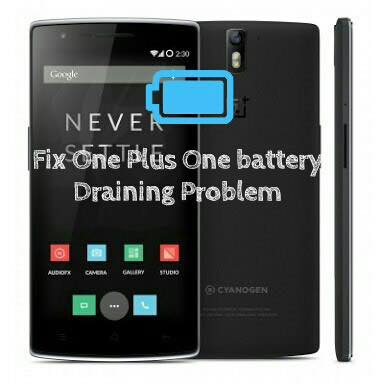 fix one plus one battery issue