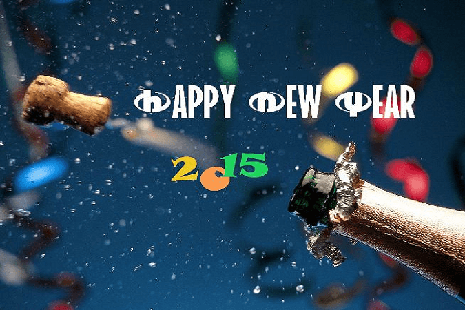 Happy New Year 2015 Mobile Wallpaper