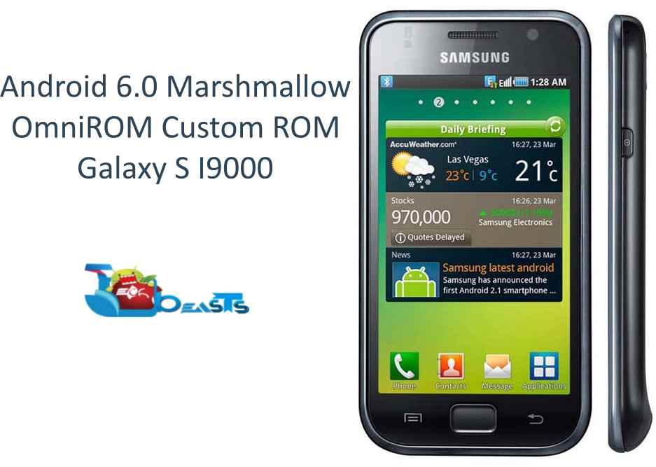 Install Android 6.0 Marshmallow on Samsung Galaxy S I9000 ...