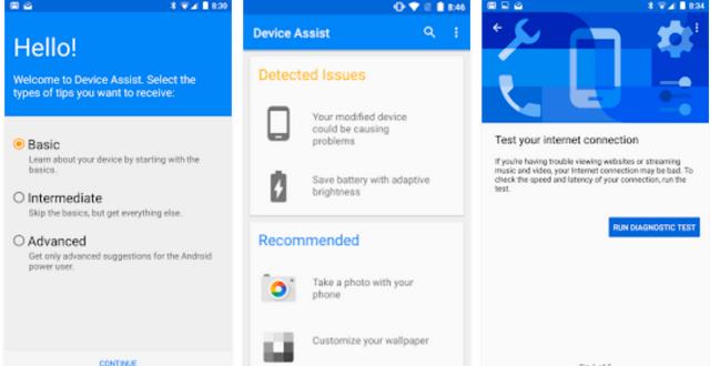 Google Device Assist
