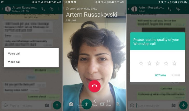 New Whatsapp Video Calling Feature update Activate