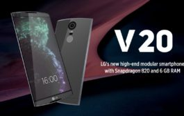 New LG V20 with Android Nougat Released in the UAE
