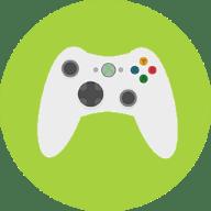 Game Design Controller Icon Green