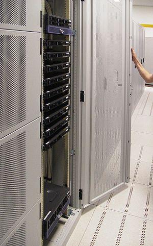 Amsterdam servercluster in its own rack