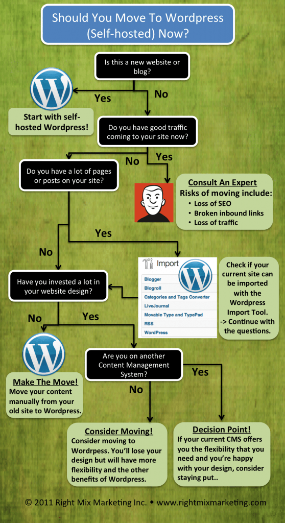 Should I Move To WordPress - Infographic