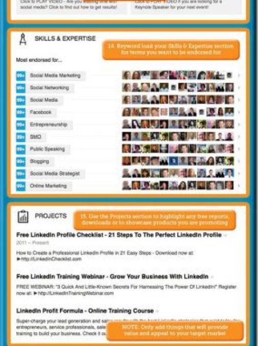 How to create a kick-ass LinkedIn profile