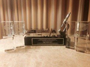 App-Tronics Wins Best Of Mobile Electronics at SEMA 2014