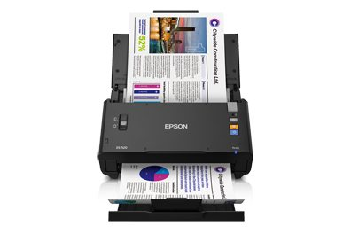 Epson Unveils New High-Speed WorkForce DS-520 Sheet-Fed Scanner with Increased Efficiency and Versatility for Business
