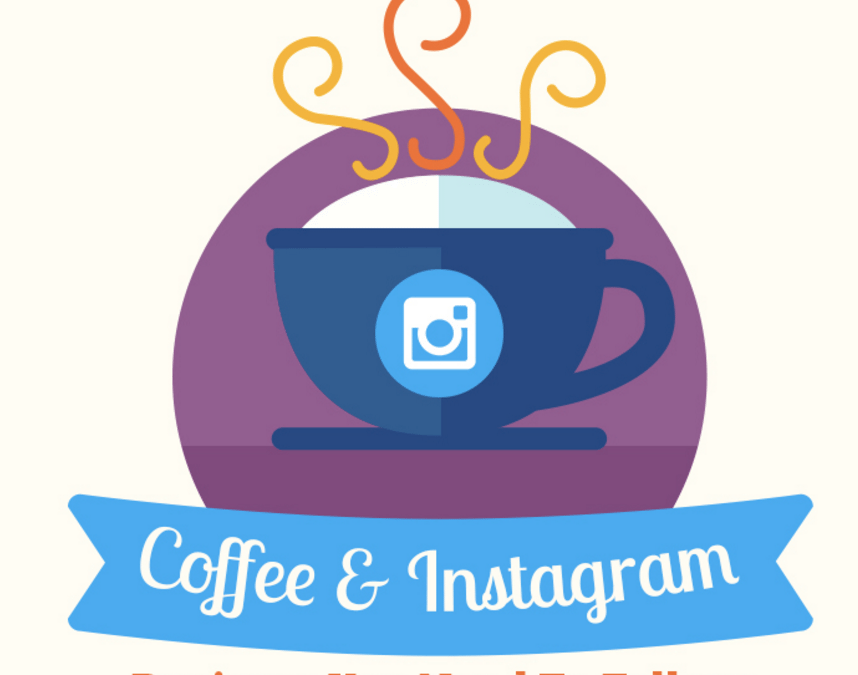 Coffee and Instagram – Baristas You Need To Follow [Infographic]