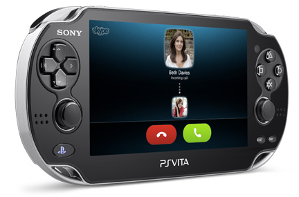 Skype for PlayStation® Vita