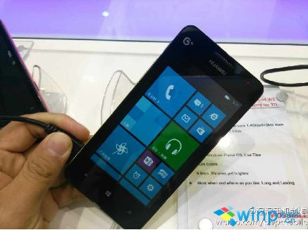 Huawei Ascend W2 Showcased In China