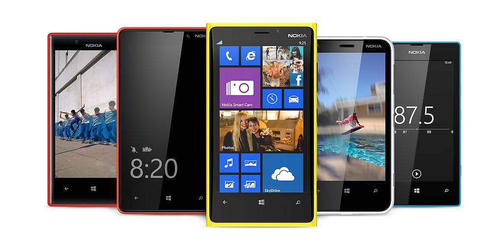 Nokia Lumia Windows Phone 8 update