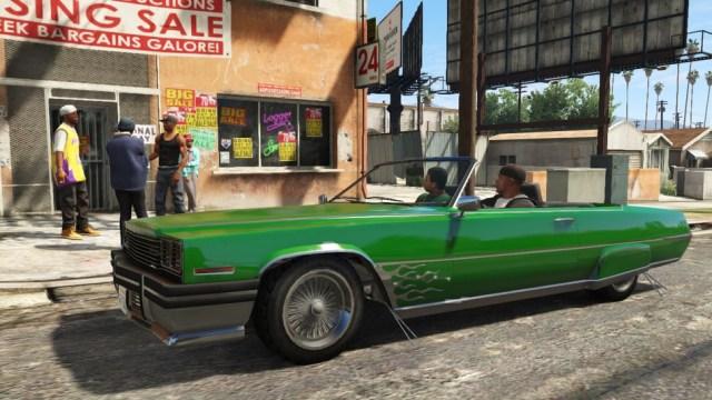 Grand Theft Auto V ride